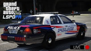 GTA 5 LSPDFR LIVE - Day 111 | LSPD Woodstock Police Department | 🍁 LSPDFR Canadian Police Patrol 🍁