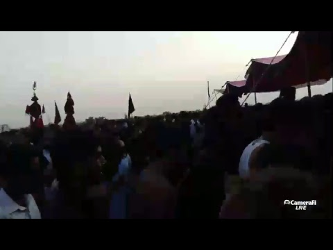 ghamehussain Azadari's broadcast