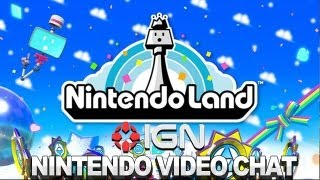 Playing NIntendo Land - Nintendo Video Chat