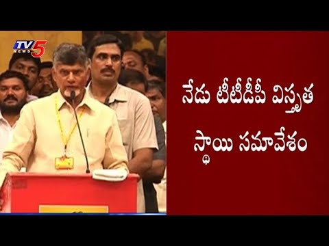 CM Chandrababu To Hold Meeting With TTDP Leaders Today | TV5 News