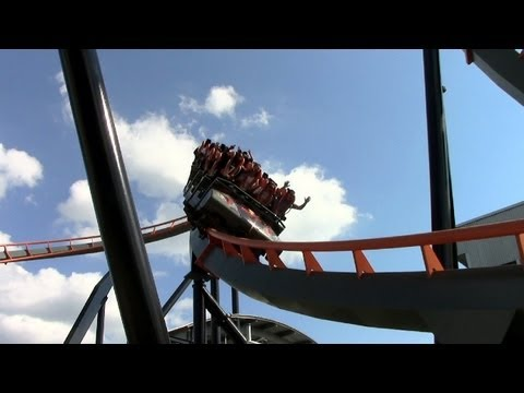 We felt that no other coaster would be more appropriate to post on the day that the world was supposed to end than this B&M standup coaster. The coaster's apocalyptic theme includes fire, crashed...