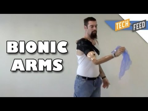 DARPA Bionic Arms Let Amputees Feel Again