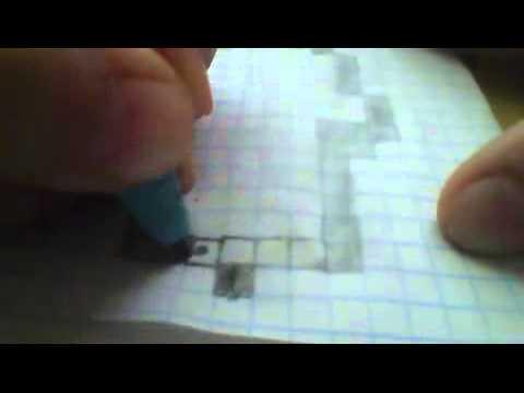 Видео как нарисовать Копателя Онлайн карандашом