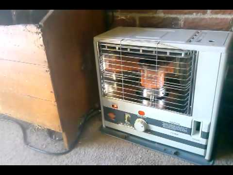 Some tips on having a Kerosene heater as a backup heat source