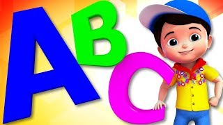 ABC Song | Junior Squad Cartoons | Nursery Rhymes For Children | Kids TV