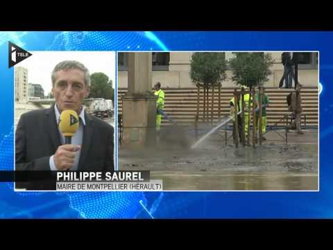 Montpellier : le maire fait le point sur les dégâts
