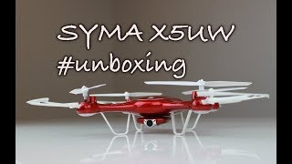 Syma X5UW - Unboxing a představení dronu Syma X5UW