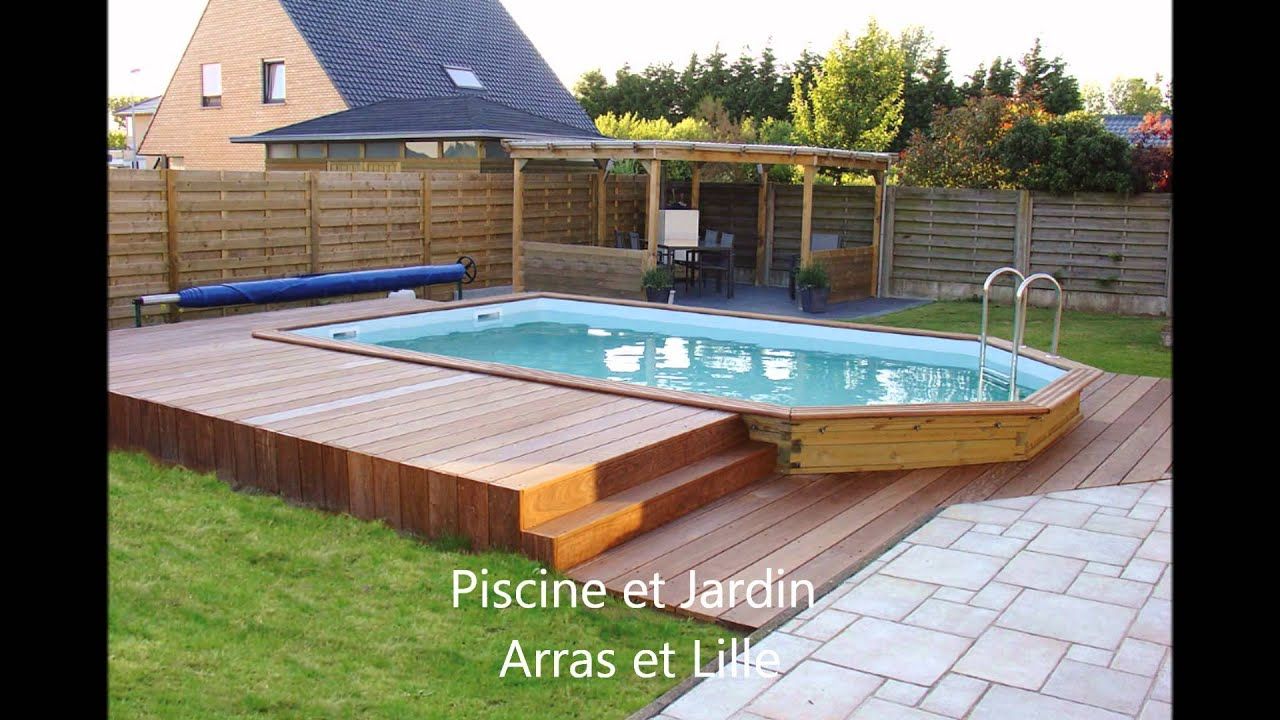 Construction fabrication et installation piscines le for Piscine jardin arras