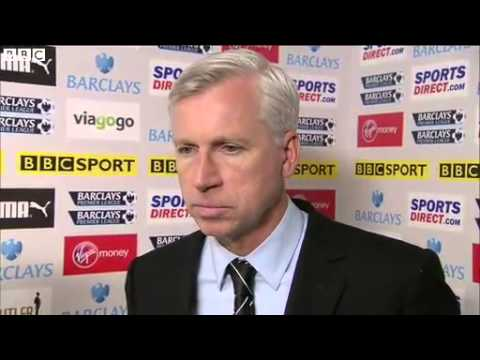 Newcastle 0-1 Arsenal - Alan Pardew (19-05-13)
