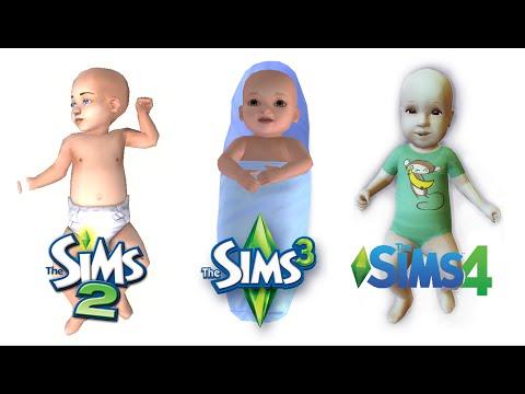 ♦ Sims 2 vs Sims 3 vs Sims 4 : Life (Part 2)