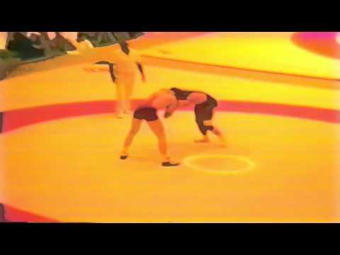 1987 Senior World Championships: 82 kg Reiner Trik FRG vs Alcide Legrand FRA