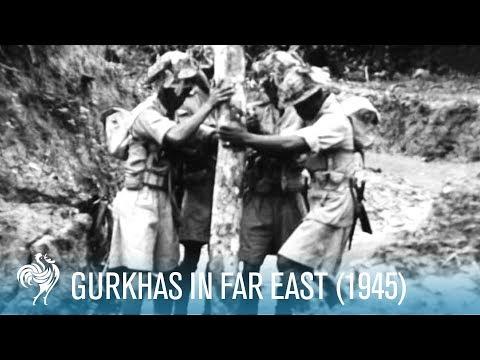 Gurkhas In Far East (1945)