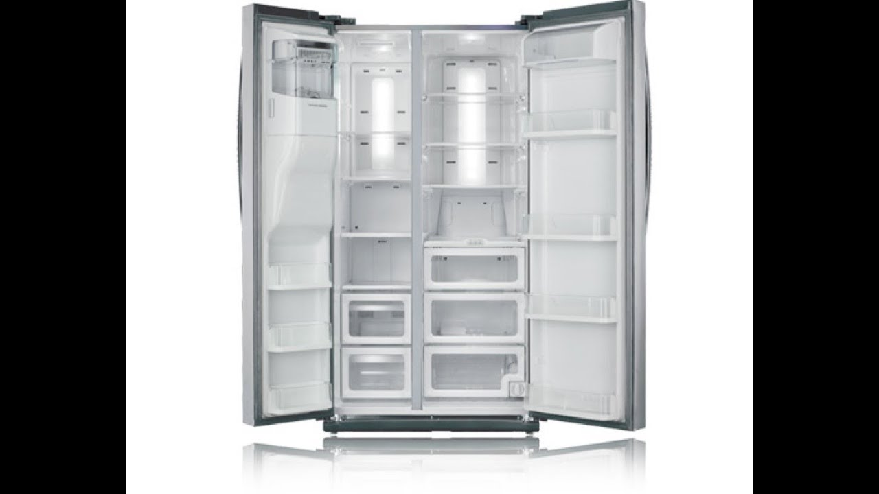 Samsung 25 5 Cu Ft Side By Side Refrigerator Rs267tdrs