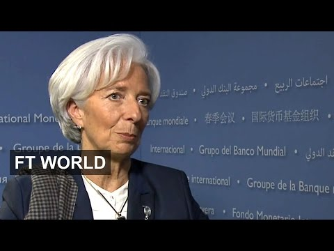 IMF chief on growth and Greece