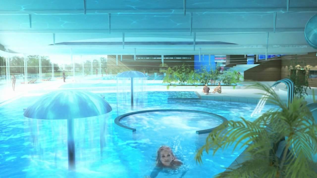 Le complexe aquatique et la salle de spectacle de for Complexe piscine