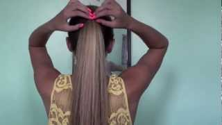 6 Cute and Easy Ponytails! | Tasha Farsaci