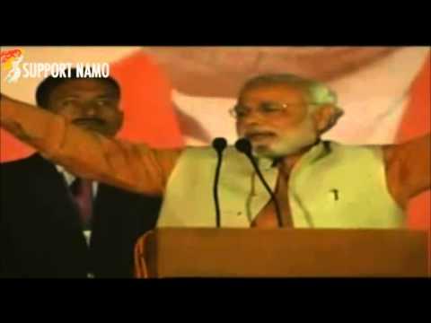 Congress Can Only Scare Cowards Like Mulayam Singh Yadav & Mayavati But I am Narendra Modi !