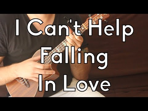 Easy Ukulele Lesson - Elvis Presley - I Can't Help Falling In Love - Beginner Songs - w/Play-a-long