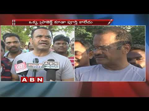 TRS Govt Neglects SLBC Project Says Congress leader Komatireddy Venkat Reddy
