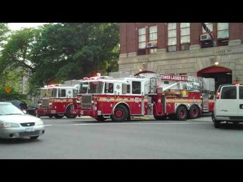 Fdny Engine 81 and Ladder 46 Video