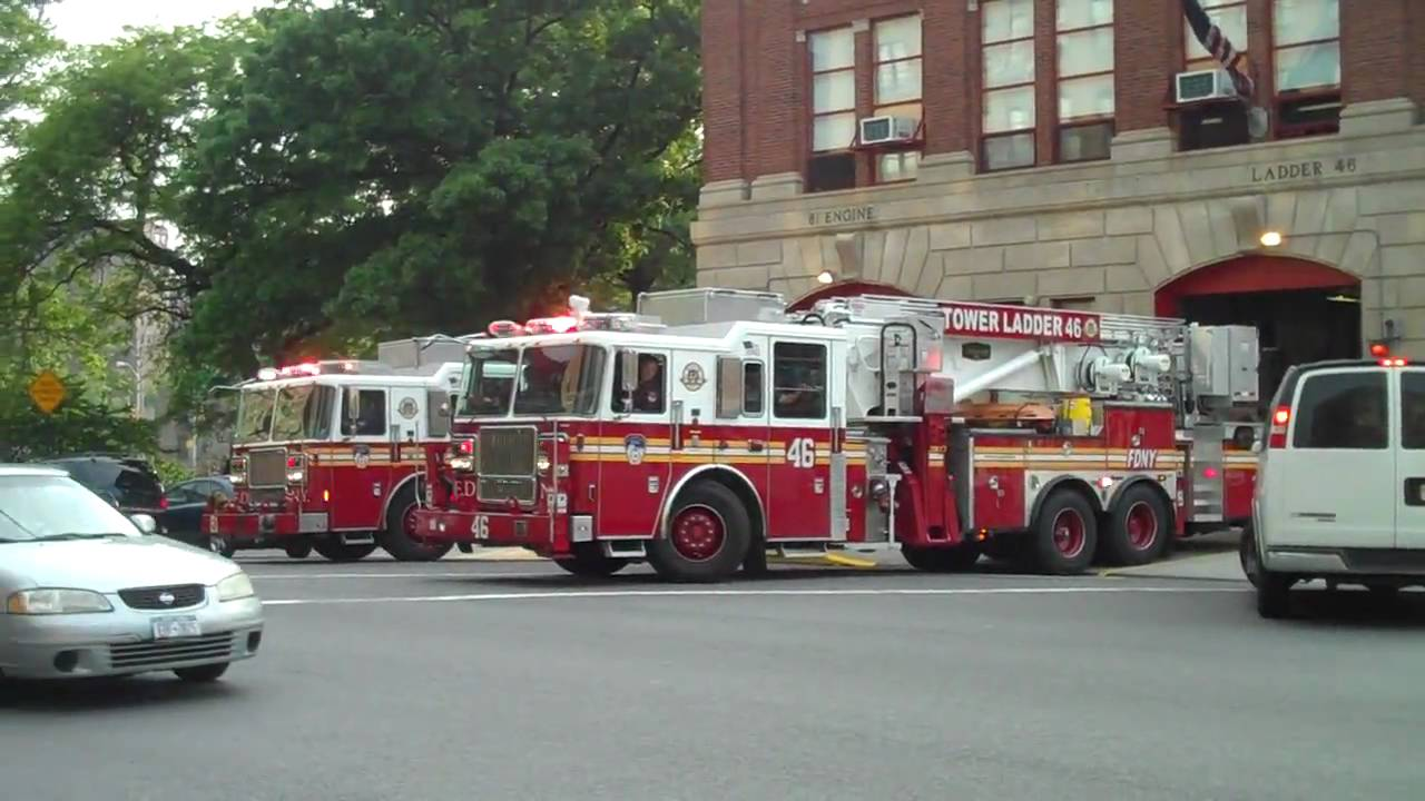 Fdny Ladder Fdny Engine 81 And Ladder 46