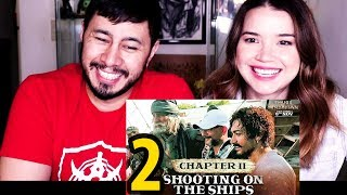 CHAPTER 2: MAKING OF THUGS OF HINDOSTAN | SHOOTING ON THE SHIPS | Reaction!