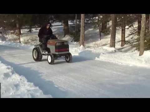 Craftsman Lawn Mower Snow Romp Pt.1