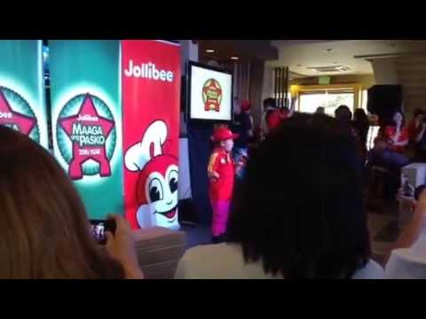 Lyca Gairanod Sings At Jollibee 20th Maaga Ang Pasko Toy Drive. video