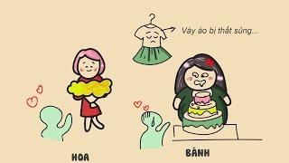 Sự khác nhau giữa phụ nữ Béo và Gầy