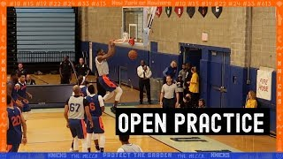 New York Knicks Open Practice 2019 | Highlights and Analysis