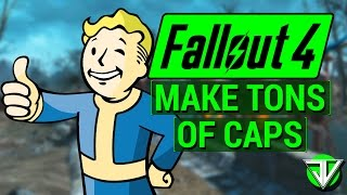 FALLOUT 4: How To Make A TON OF CAPS in Fallout 4! (3000+ Caps Per Hour Using Purifiers)