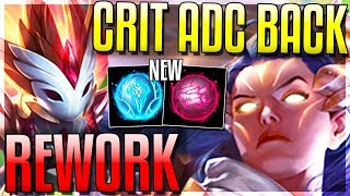CRIT ADCs ARE BACK!? KINDRED NEW W & MORE! - New 8.13 Changes - League of Legends