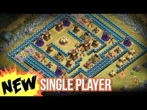 I WANT NEW SINGLE PLAYER MAPS Clash of Clans