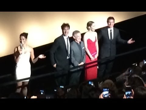 """Edge of Tomorrow"" NY Premiere - Tom Cruise, Emily Blunt, and Doug Liman Opening The Film"