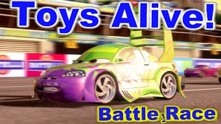 Cars 2: The video game ☆ Wingo ☆ Battle Race on Harbor Sprint