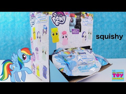 MLP Mash Mallows Fashems Mashems Squishy Squishies My Little Pony Toy Review   PSToyReviews