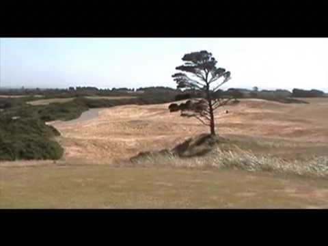 Drive to Bandon Dunes for a round of golf in HUGE winds!