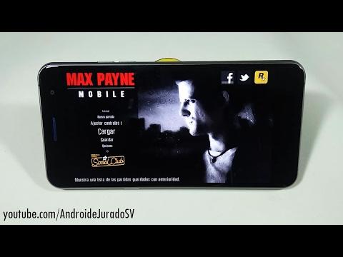 Max Payne Para Android - con voces en Español
