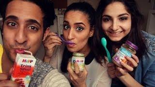 BABY FOOD CHALLENGE mit Isipisi5 & HerrTutorial!!