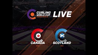 Canada v Scotland - Men - Curling World Cup First Leg - Suzhou