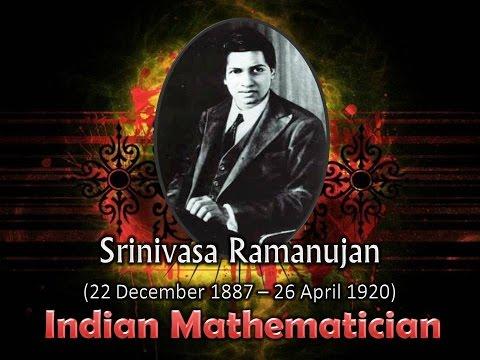Srinivasa Ramanujan Great Indian Mathmatician Slideshow Video Presentation