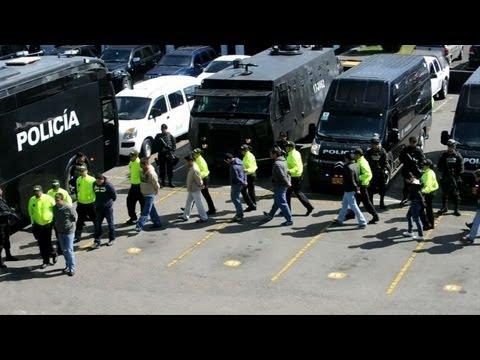 Colombia: policía captura 34 narcos