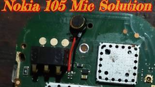 Nokia 105 Mic solution/Nokia 105 Mic Problem/Nokia 105 Mic Jumper