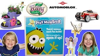 My Fairy Garden + Scented Fairy! Automoblox Cars! Surprise Box from Play Monster!