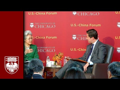 U.S. - China Forum Part 3: Keynote Address and Conversation with Madame Fu Ying