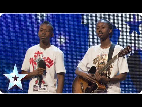 J-Unity sing 'Express Yourself' | Week 4 Auditions | Britain's Got Talent 2013