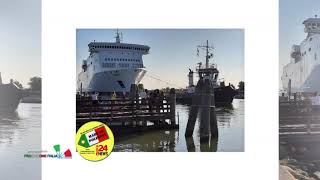 nave Marie Curie, costruita dai Cantieri Visentin  ( Porto Viro - Ro )