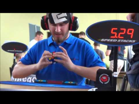 New Rubik's Cube blindfolded World Record: 23.19