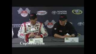 NASCAR at Richmond International Raceway Apr. 2013: Kevin Harvick Post Race