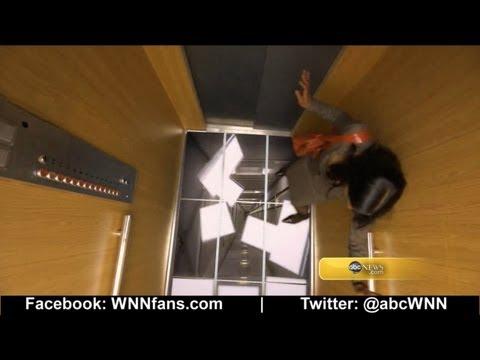 Elevator Prank: Floor Falls Away
